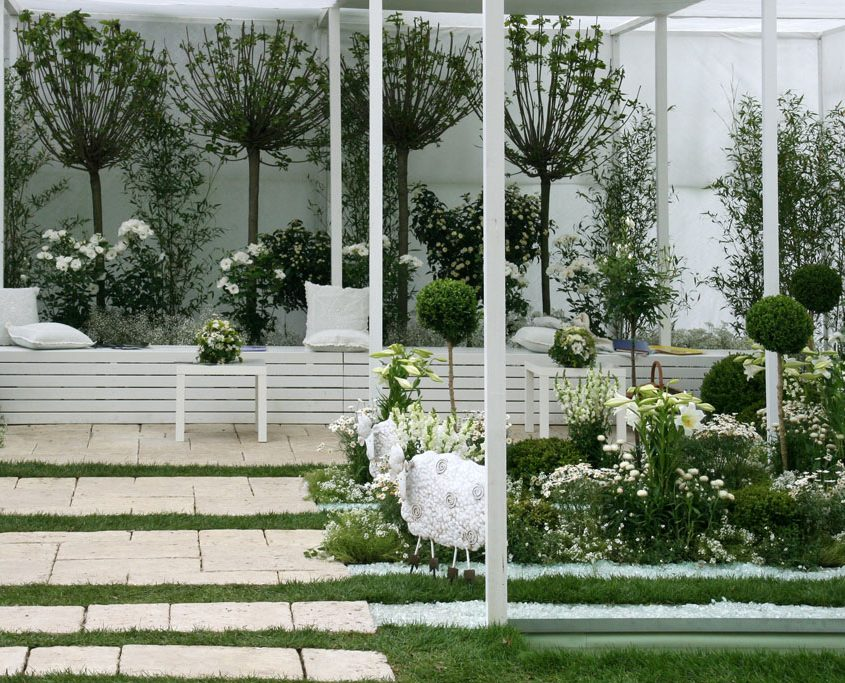 Weißer Garten gartenbau garten dolezal
